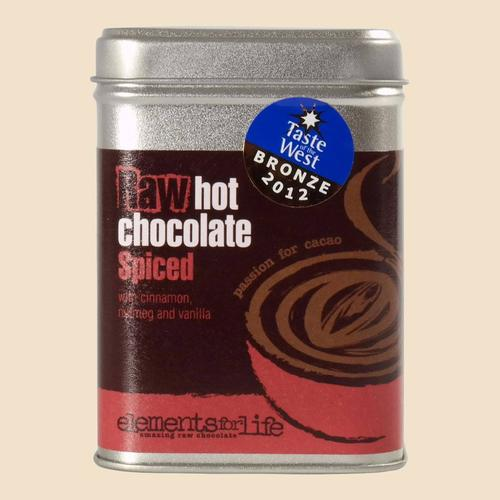 Raw Cacao Hot Chocolate Spiced