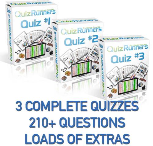 3-Pack Trivia Night Package, Quizzes #1, #2, and #3