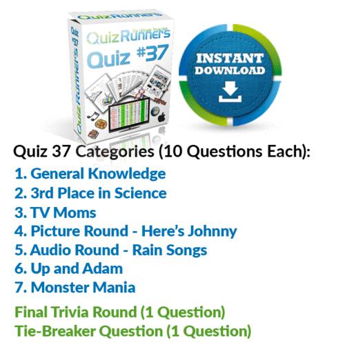 Quiz Night Kit 37