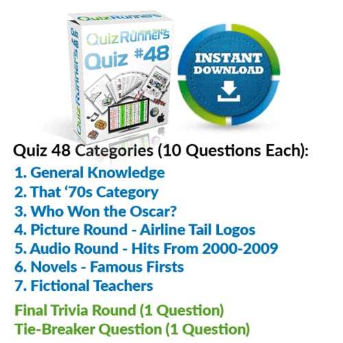 Quiz Night Kit 48