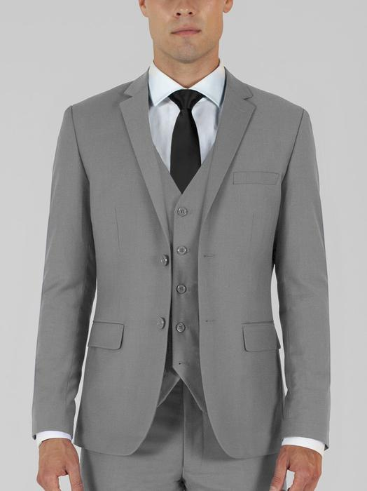LIGHT GREY THREE PIECE TR SUIT