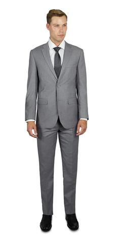 LIGHT GREY TWO BUTTON TR SUIT