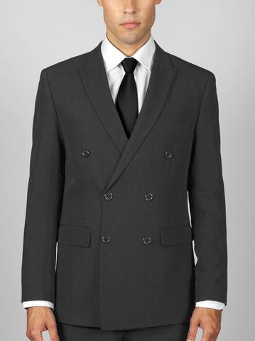 CHARCOAL GREY DOUBLE BREASTED SUIT