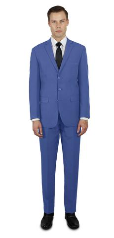 FRENCH BLUE THREE BUTTON SUIT