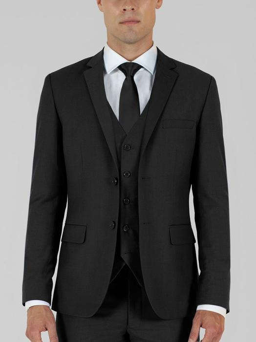 BLACK THREE PIECE TR SUIT