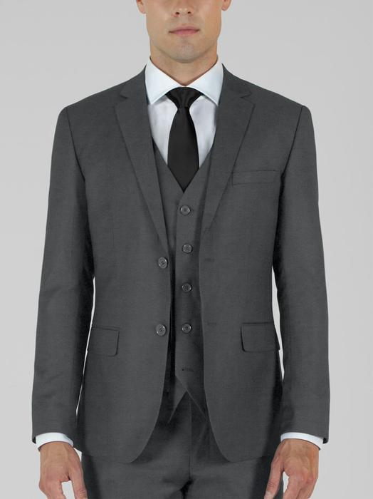BIRDSEYE GREY THREE PIECE TR SUIT