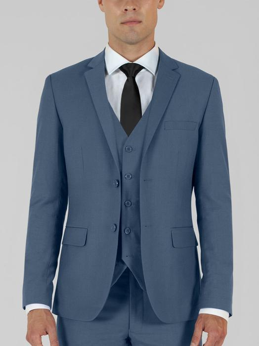 SLATE BLUE THREE PIECE TR SUIT