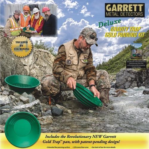 GARRETT | Gold Pan Kit - Deluxe