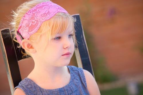 Pinky Promise Lacy Headband