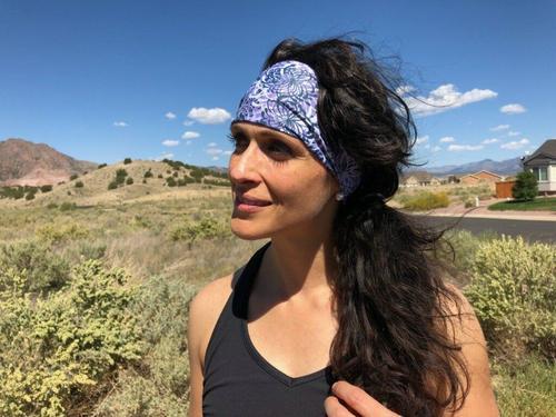Violet Lights Headband