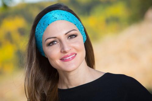 Turquoise Bolder Band-ana Headband