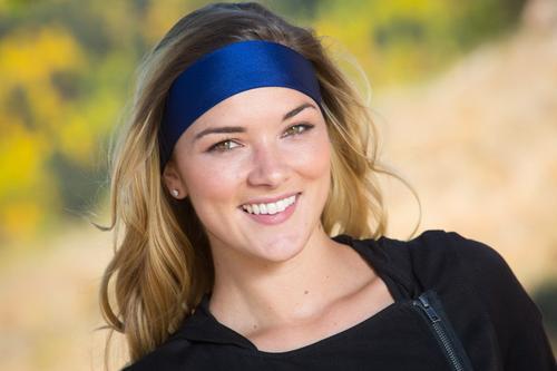 Navy Headband