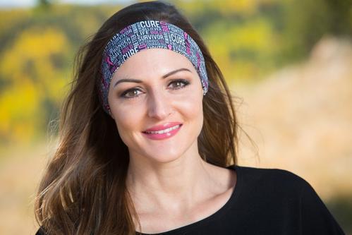 Band Against Cancer Headband