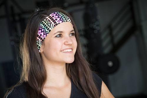 Neon Peaks Headband
