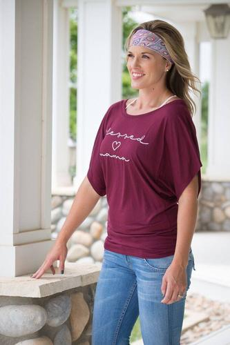 Blessed Mama Style Tee