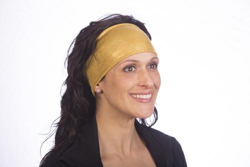 Solid Gold Headband