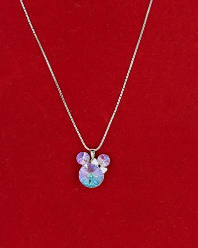 Mickey Mouse Rhodium Necklace