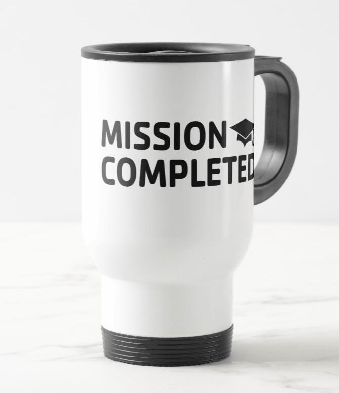 Mission Completed Travel Mug