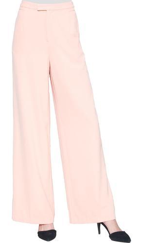 Mei Dressy Wide Leg Pants - Rose