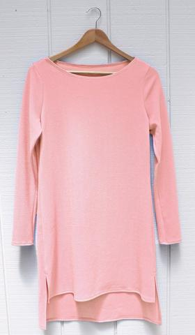 Zeela Stylish Everyday Long Tunic  - Blush