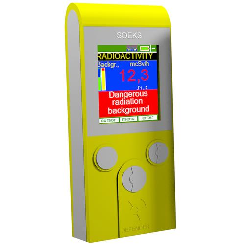 Dosimeter DEFENDER - Geiger Counter Radiation Detector Dosimeter
