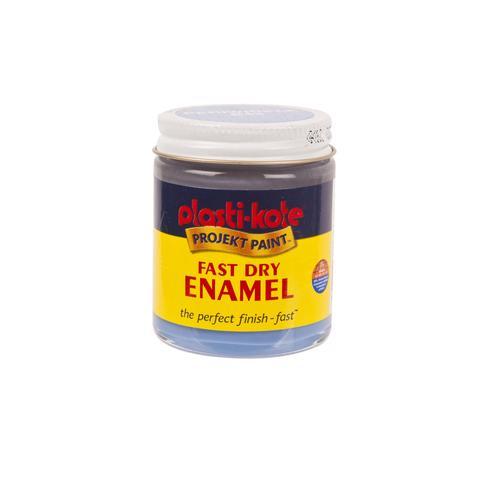 Plasti-kote Fast Dry Enamel Craft Paint Jar 59ml  - Periwinkle Blue