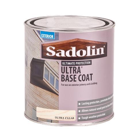 Sadolin Exterior Ultra Base Coat - 1L - Ultra Clear