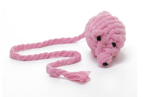Cotton Rope Mouse Cat Toy