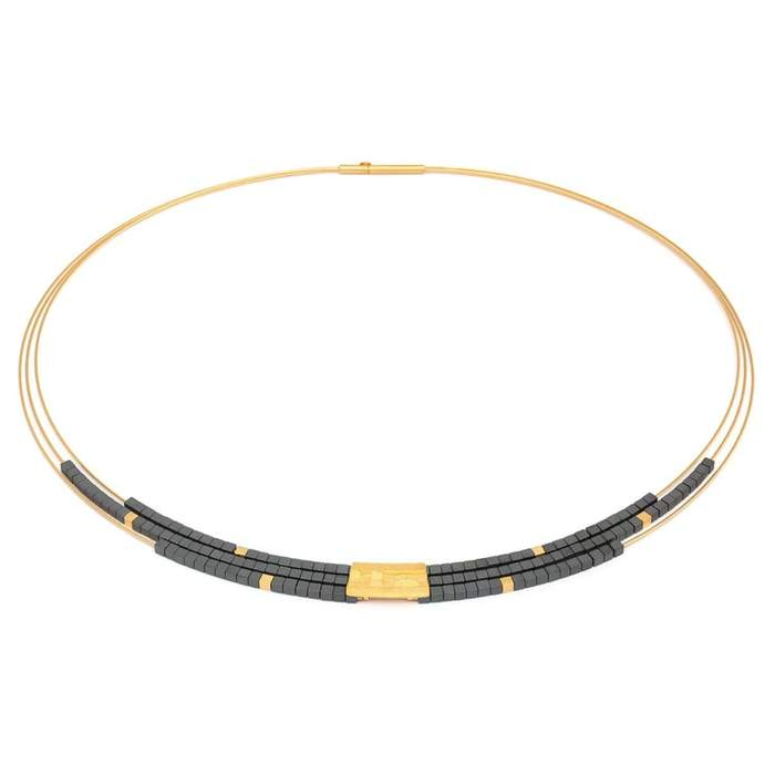 Orfini Hematine Necklace - 85089276