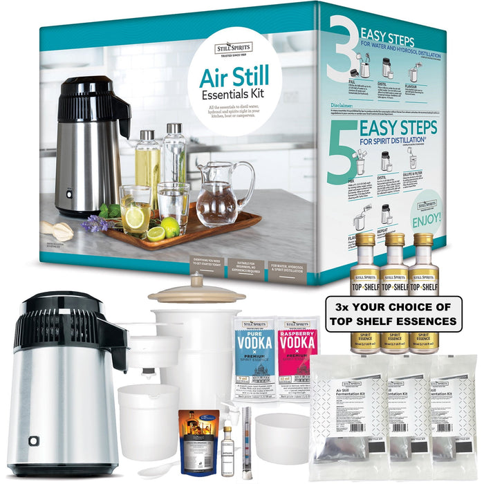 NEW: Still Spirits 4L Air Still Mini Distillery & SUPER DUPER PACK!