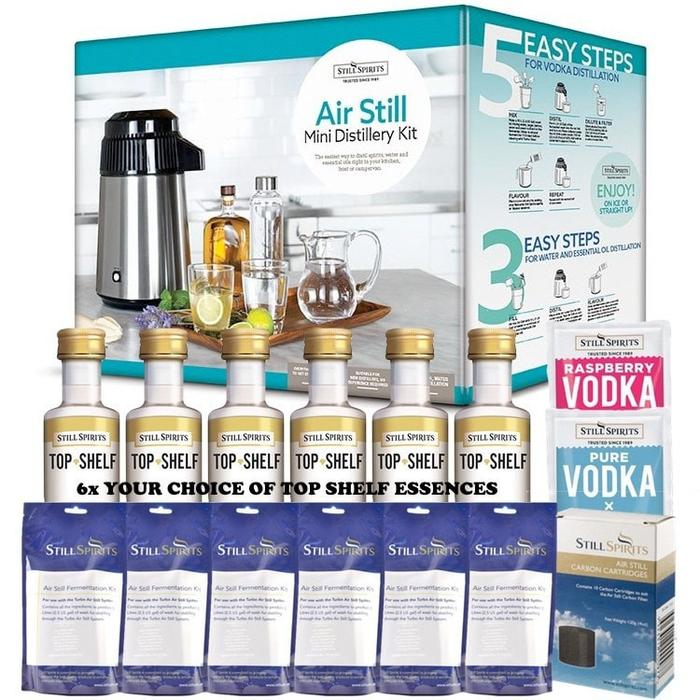 NEW: Still Spirits 4L Air Still Mini Distillery & MEGA PACK!