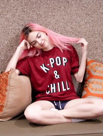 K-POP & CHILL Tee