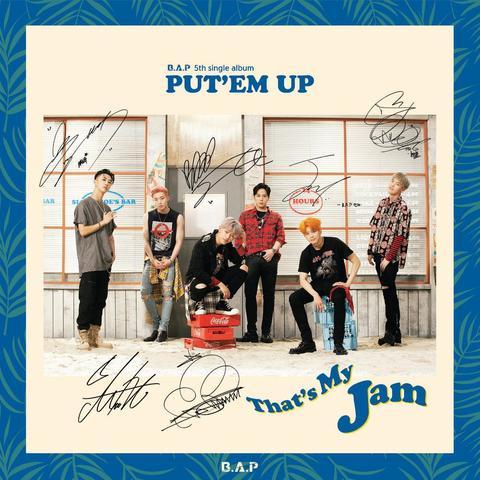 [Exclusive Pre-order] Signed B.A.P Vol.5 - Put'em Up Single-Album