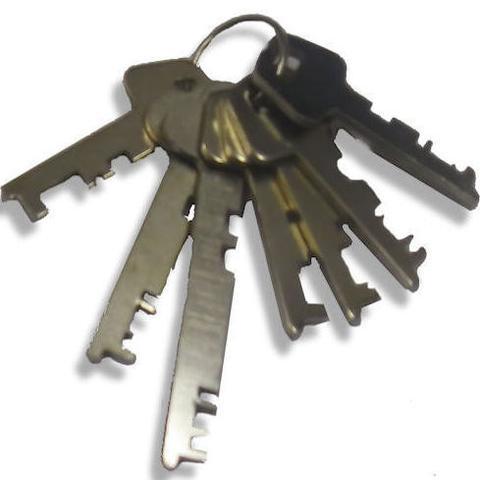 7 Piece  FLAT Master Key set