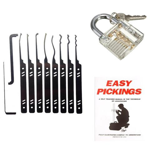 Special Agent Lock Picking Gift Set