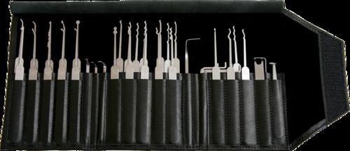 Multipick ELITE Super-Pick Set 27 Pieces + 10 Bogota Picks