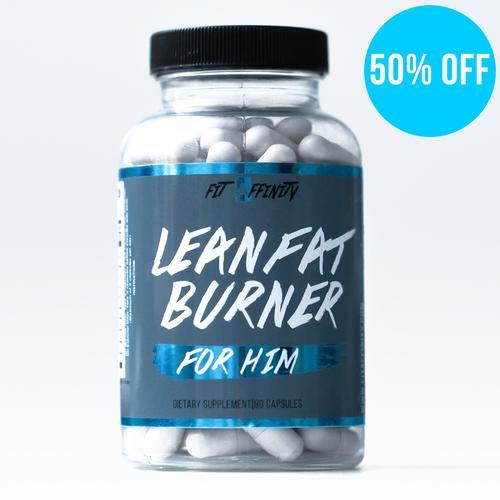 Lean Fat Burner for Him - 90 Capsules