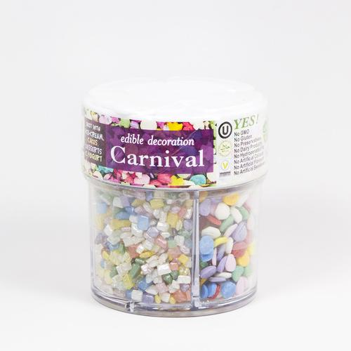 Natural Sprinkles - Crystal Flower Carnival Mix