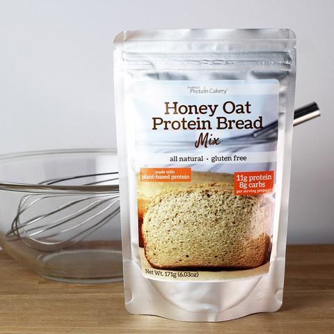 Honey Oat Protein Bread Mix - Gluten Free