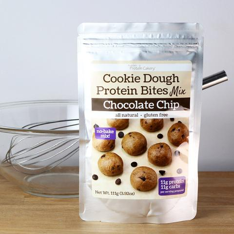Chocolate Chip Cookie Dough Protein Bites Mix - Gluten Free