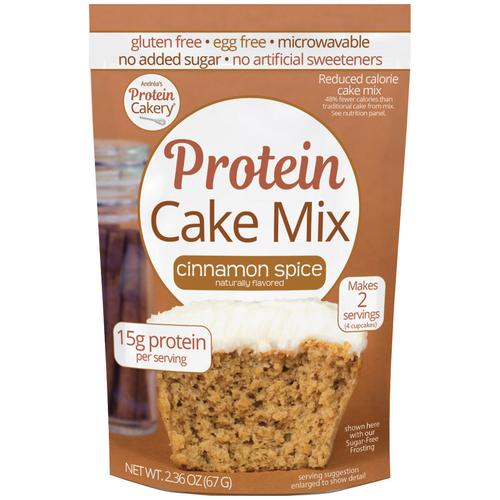 Protein Cake Mix - Cinnamon Spice