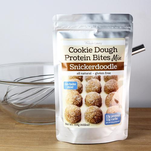 Snickerdoodle Cookie Dough Protein Bites Mix - Gluten Free
