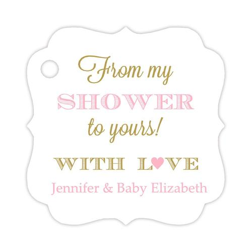 From my shower to yours tags