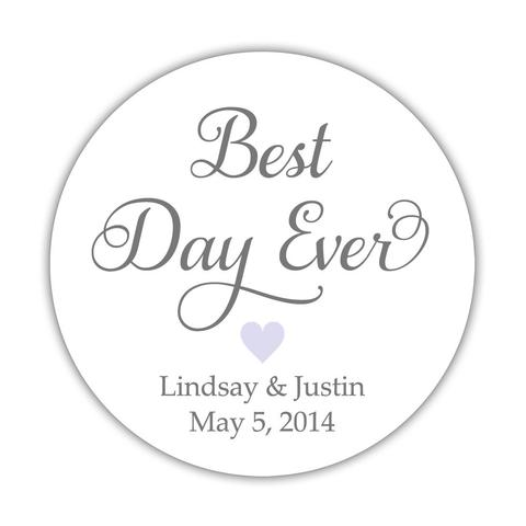 Best day ever stickers