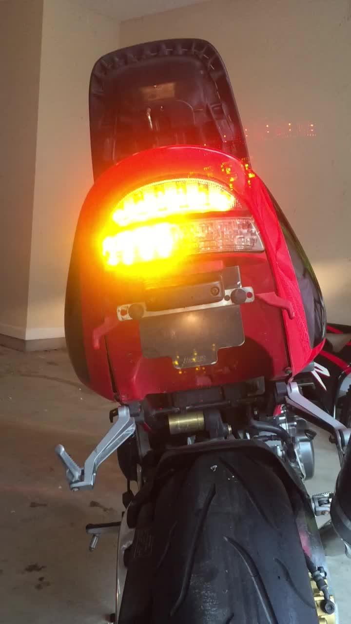 2002 2003 Honda Cbr 954rr Integrated Tail Light Retrofit Kit Wiring Diagram Aaran F Verified Customer Review Of Led