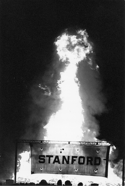 11/15/1990Big Game bonfire.Credit: Chuck Painter / Stanford News Service