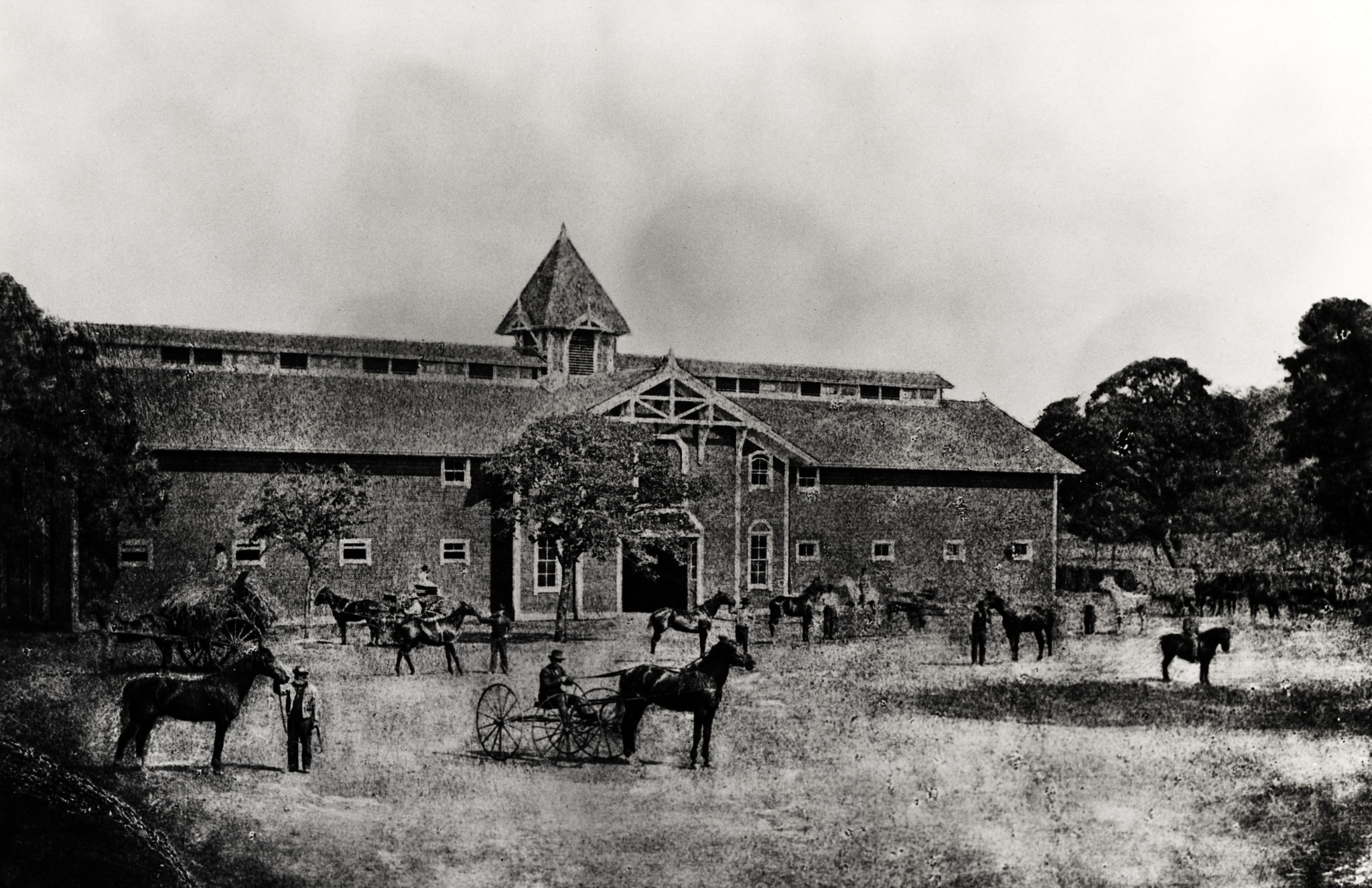 Arrow Pointing Down >> The Red Barn - Stanford 125