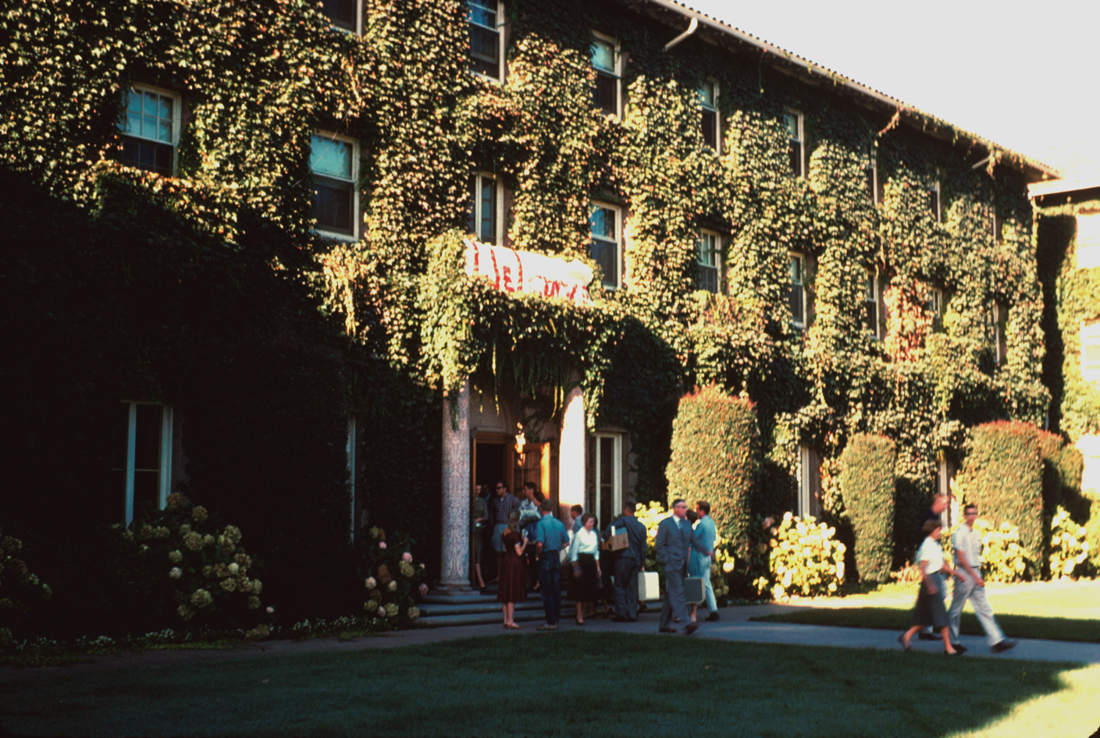 10/1959Women's dorm, Roble Hall.Courtesy Stanford News Service