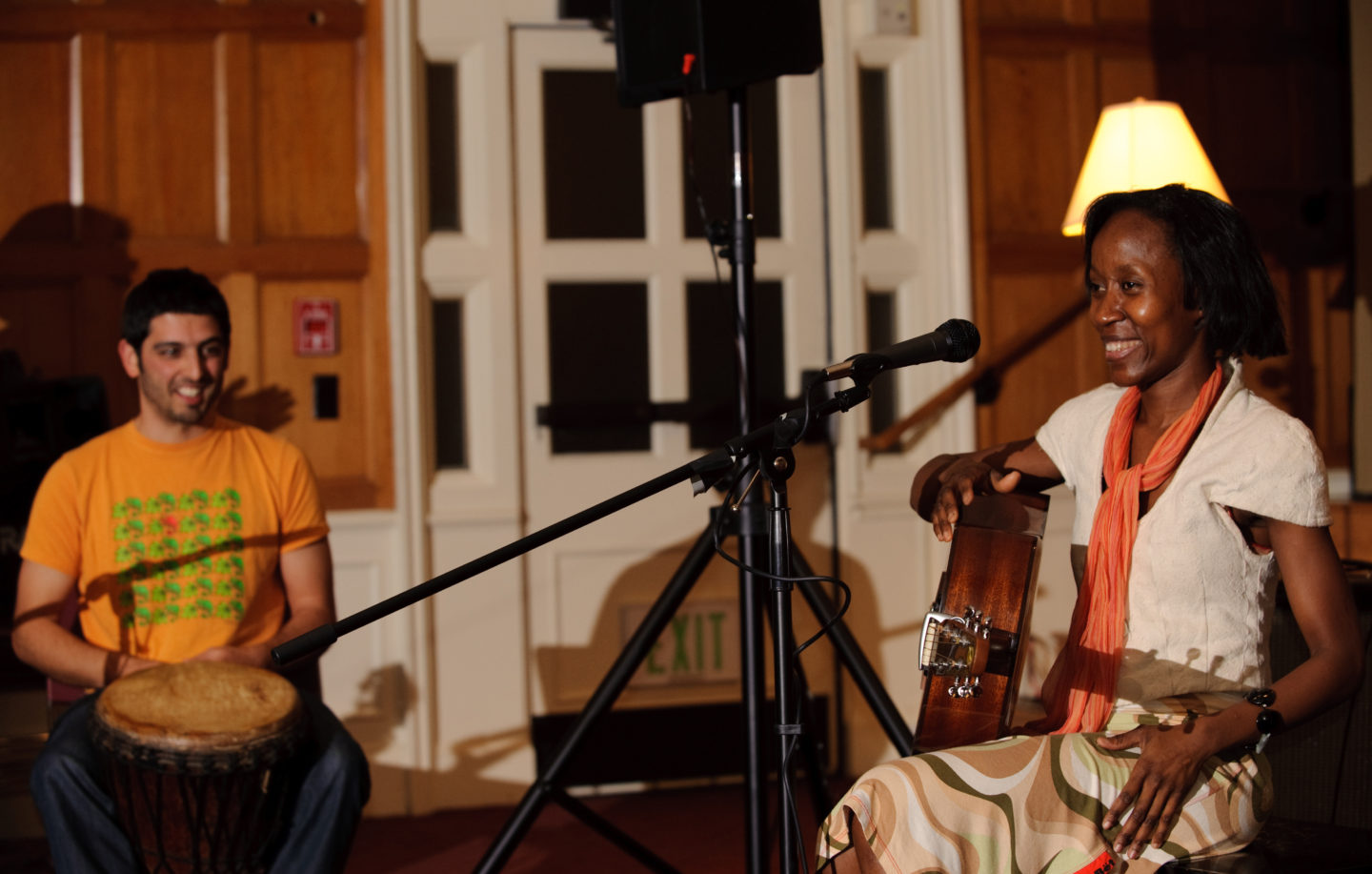 Rokia Traore at Roble Hall Songwriters Workshop Series