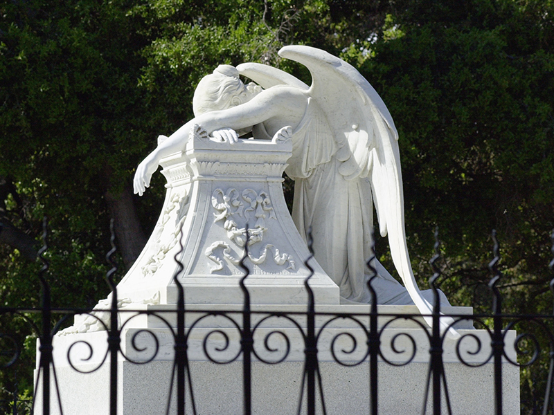 Photo: Angel of Grief monument